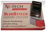 TIP - X4-Tech SlimStyler Tragbarer MP3-Player 1 GB silber
