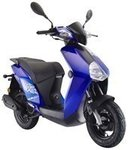 TIPP - Explorer Kallio K50 New Edition blue Motorroller