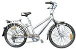 TIP - Elektro Fahrrad  E Bike 26 Zoll - Aluminium Inception - + 24 V Batterie
